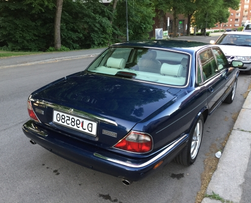 Jaguar XJ8 i Sovereign utgave